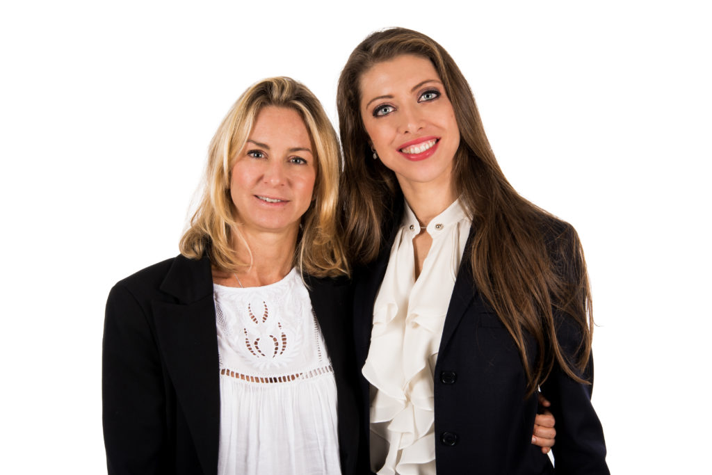 Paola Marzario, Founder and President of the Brandon Group (left) and Ilaria Tiezzi, Brandon Group's new CEO (right)